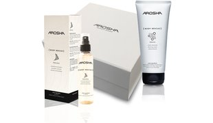 AROSHA Body Geschenkbox Drain Cream & Peeling Emulsion