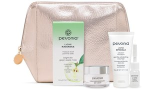 PEVONIA Holiday Gift Collection - Glowing Reveal Bright Skin Green Apple Mask