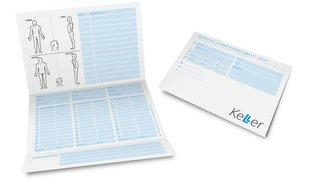 Keller Carte d'analyse et de patient