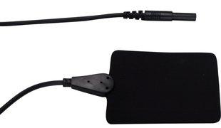 Leitgummielektrode mit Kabel