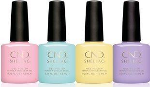 CND Shellac Chic Shock Collection
