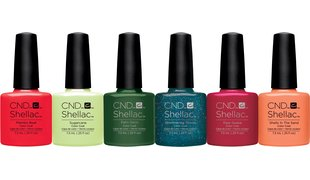 CND Shellac Rhythm & Heat Collection